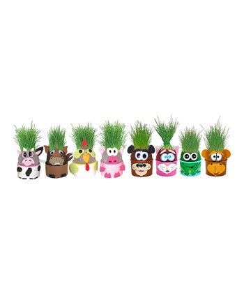 Animal Eye Grow & Grow Me Planter Set