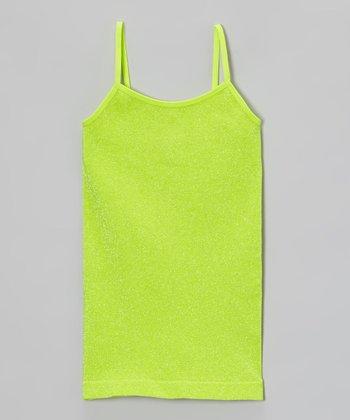Malibu Sugar Lime Metallic Camisole - Girls