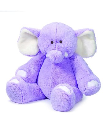 Purple Coodledoos Elephant Plush Toy