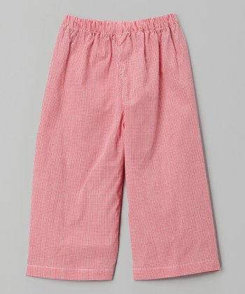 Red Gingham Pants - Infant, Toddler & Boys