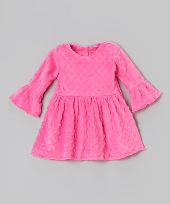 Pink Minky Dress - Infant, Toddler & Girls
