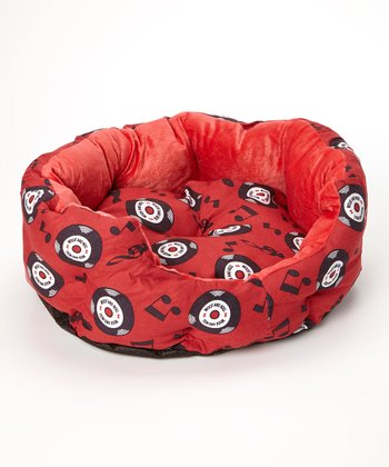Red Woof 'n' Roll Pet Bed