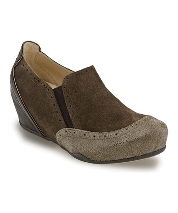 Brown Allure Wedge - Women