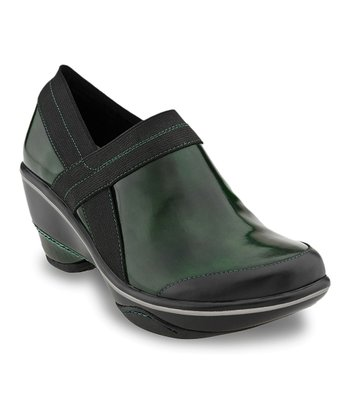 Hunter Green Cali Boxy Bootie