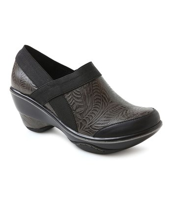 Charcoal Cali Embossed Bootie - Women