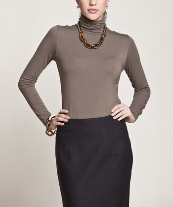 Olive Basic Turtleneck
