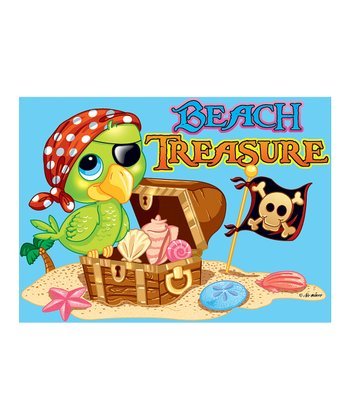 Beach Treasure Canvas Art