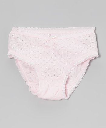 Pink Pointelle Underwear - Infant, Toddler & Girls