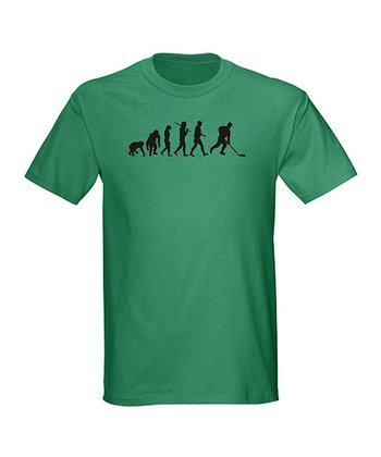 Kelly Green 'Evolution' Tee - Men