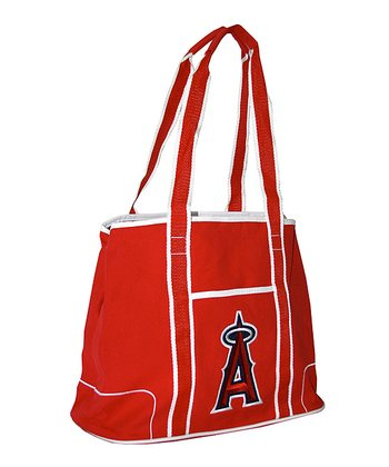 Los Angeles Angels Red Hampton Tote