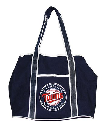 Minnesota Twins Navy Hampton Tote