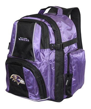 Purple Baltimore Ravens Trooper Deluxe Backpack