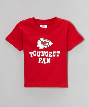 Red Kansas City Chiefs Haney Tee - Toddler