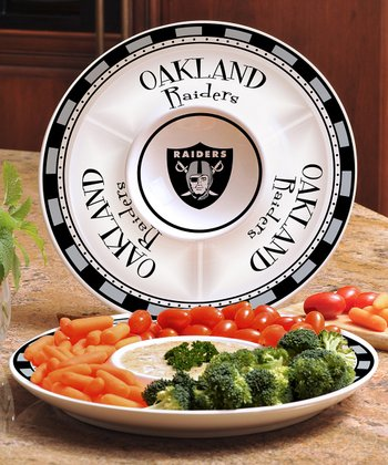 Oakland Raiders Divided Platter