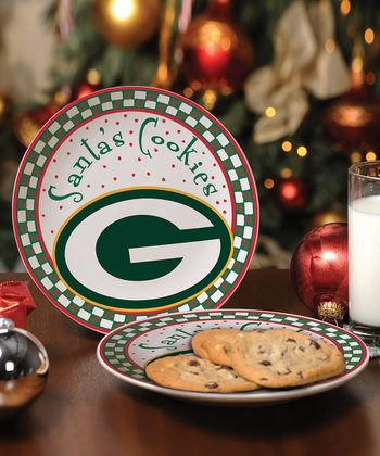 Green Bay Packers Cookie Plate