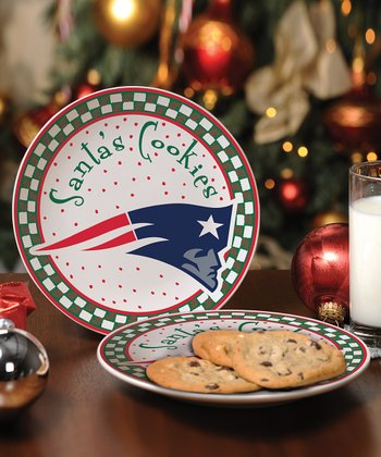 New England Patriots Cookie Plate