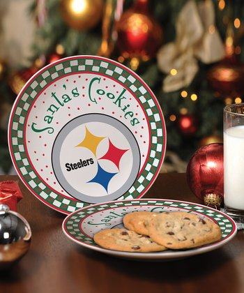 Pittsburgh Steelers Cookie Plate