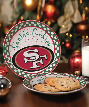 San Francisco 49ers Cookie Plate