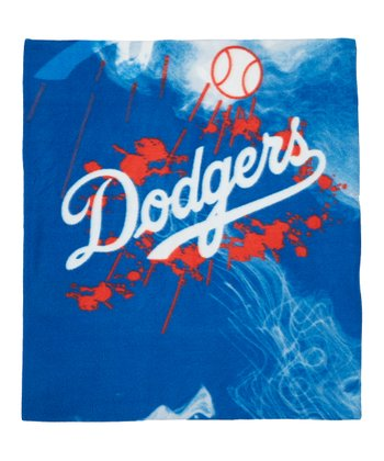 Los Angeles Dodgers Fleece Throw Blanket