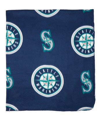 Seattle Mariners Fleece Throw Blanket