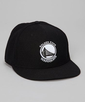 Golden State Warriors Black Wool-Blend Cap