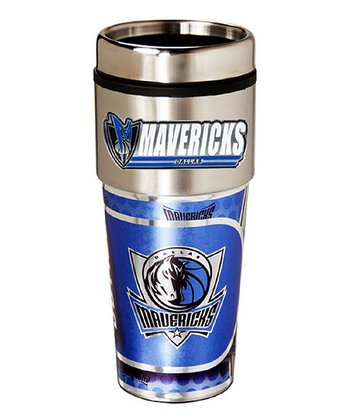 Dallas Mavericks Stainless Steel Graphic Tumbler