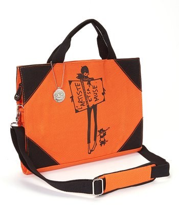 Orange Dog Laptop Bag