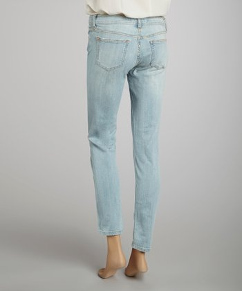 Light Steel Skinny Jeans