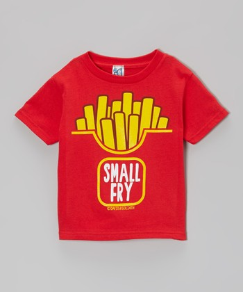 Red 'Small Fry' Tee - Toddler & Kids