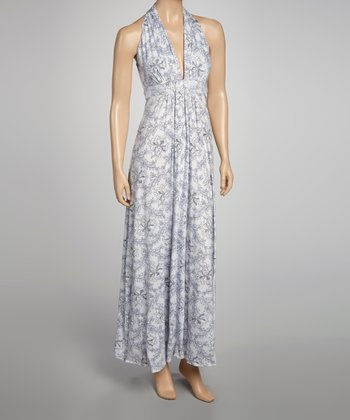 Floral Dot Catalina Maxi Dress