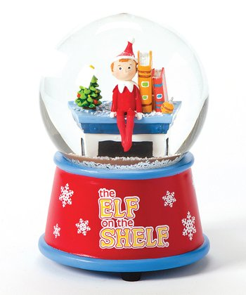 Elf on the Shelf Glitter Dome