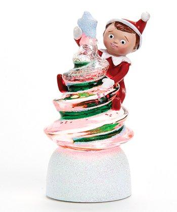 Elf on the Shelf Swirl Light-Up Tree Figurine