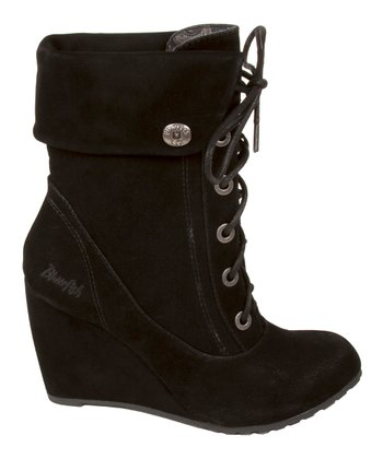 Black Fawn Ilisa Wedge Bootie