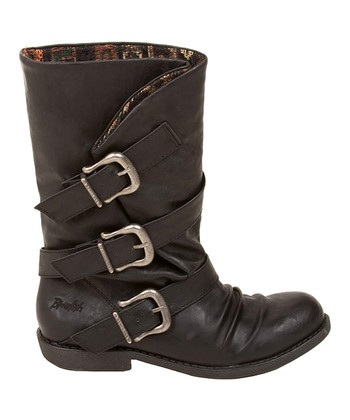 Black Relax Alms Boot