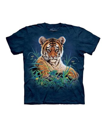 Navy Tiger Cub Tee - Toddler & Kids