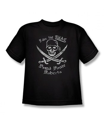Black Dread Pirate Roberts Tee - Kids