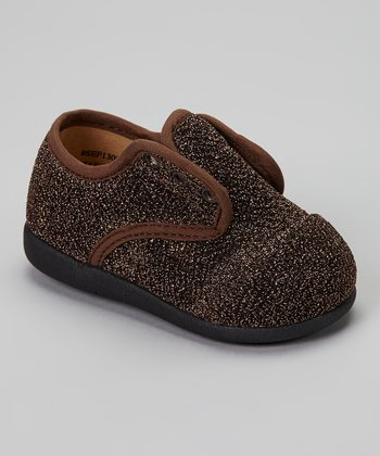 Brown Jasmine Slip-On Squeaker Shoe