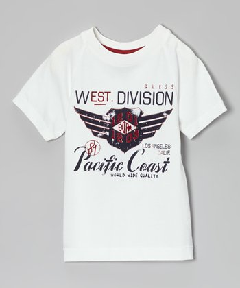 White 'Pacific Coast' Tee - Toddler & Boys