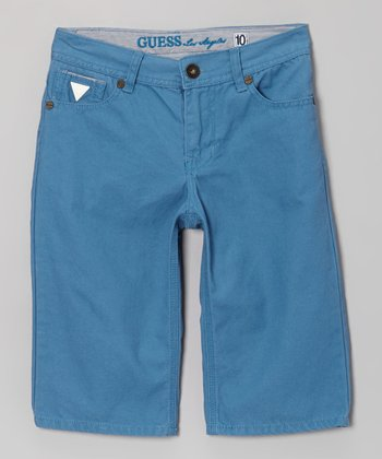 Blue Shorts - Toddler & Boys