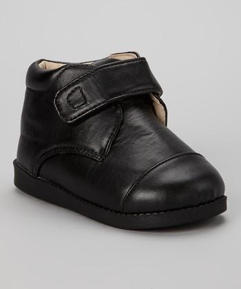 Sneak A' Roos Black Squeaker Ankle Boot