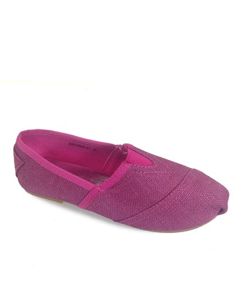 Fuchsia Estonia Slip-On Shoe