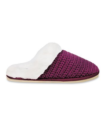 Magenta Holly Grove Slipper