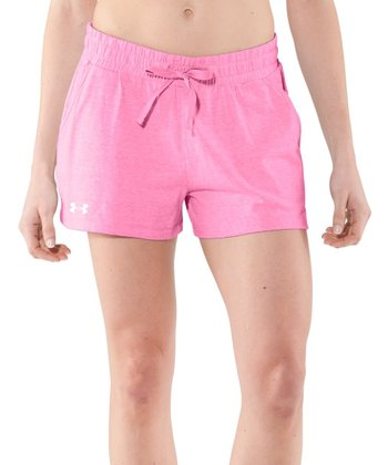 Fluo Pink Charged Cotton® Undeniable Shorts