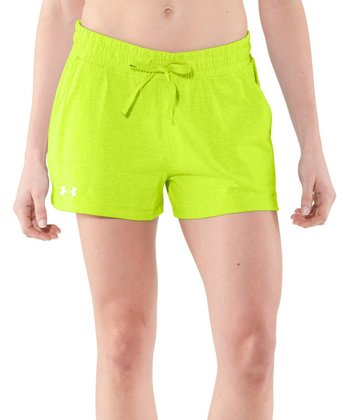 High-Vis Yellow Charged Cotton® Undeniable Shorts