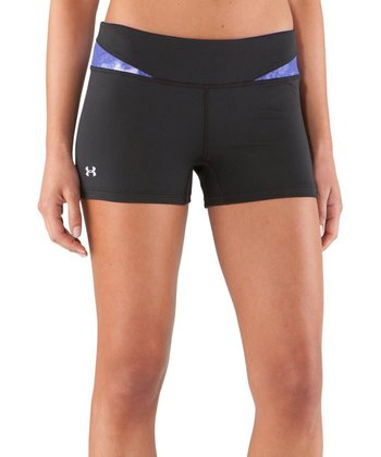 Black & Purple Sonic All-in-One Shorts
