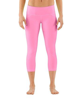 Fluo Pink Studio Rave Capri Pants