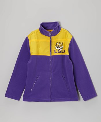 LSU Tigers Fleece Jacket - Kids