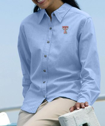 Texas Tech Red Raiders Coastal Chambray Button-Up