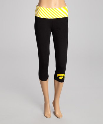 Iowa Hawkeyes Capri Leggings