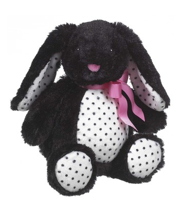 GANZ Black Licorice Bunny Plush Toy